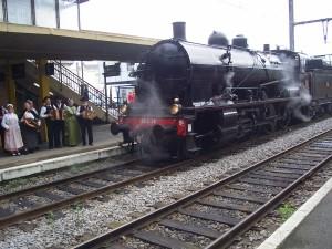 4 juin 2017  Voyage en train à vapeur jumelage Coussac-BonnevalPappenheim (1)