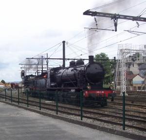 4 juin 2017  Voyage en train à vapeur jumelage Coussac-BonnevalPappenheim (3)